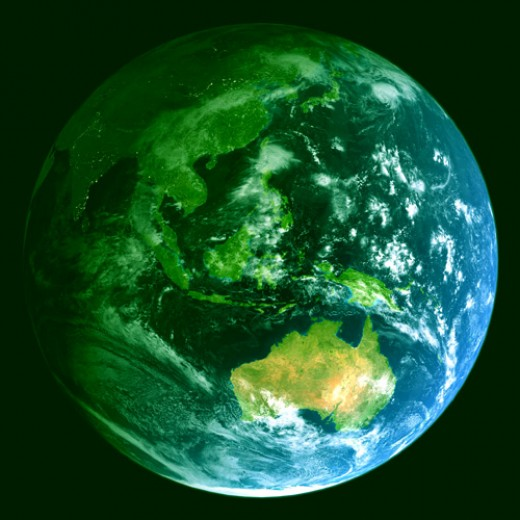 How green is your world?