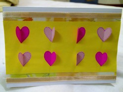 DIY Cards: Valentine's Day with Cute Butterfly Hearts