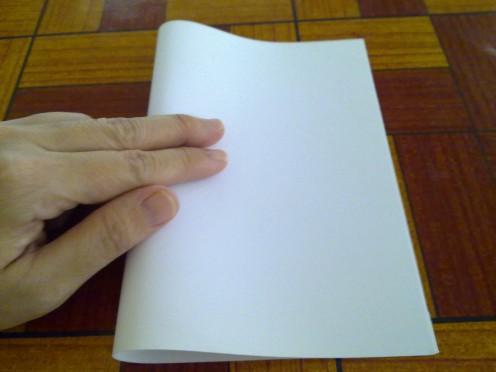 Step 1 -Fold into half