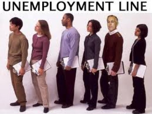 People looking for work