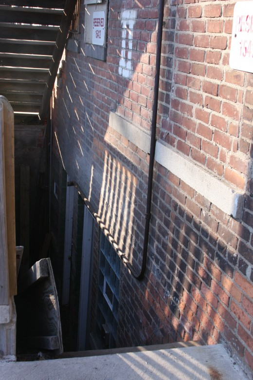 Alley Entrance to alleged Bashara dungeon