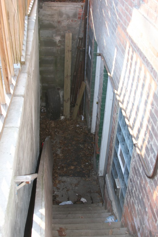 Entrance to alleged Bashara dungeon
