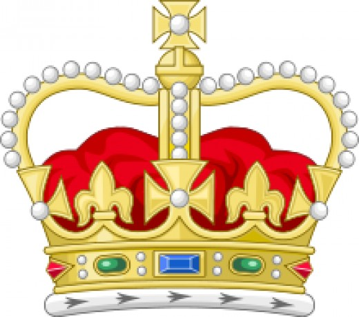 The ulimate prize - the crown of King Eadward that William thought belonged to him when he took the kingship. The crown of state belonged to the state, not the monarch on the throne at the time