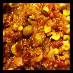 Kid-Friendly Vegetarian Chili