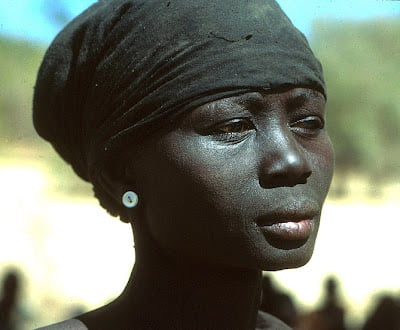 A former slave in the Sudan.  As of 1993, the US State Dept estimated 90,000 blacks were owned by North African Arabs.