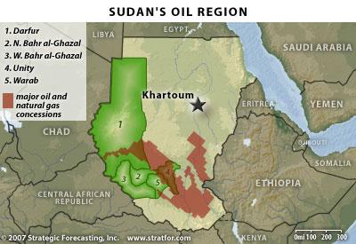 Oil in the Sudan