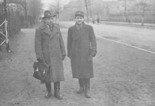 Leopold Socha and Mudek Marguilies, another of the ten survivors of the Lvov sewers.