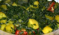 Palak Aloo Recipe