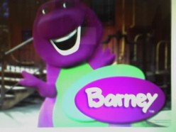 How many times have your kids watched the show Barny and Friends, until you are ready to scream?