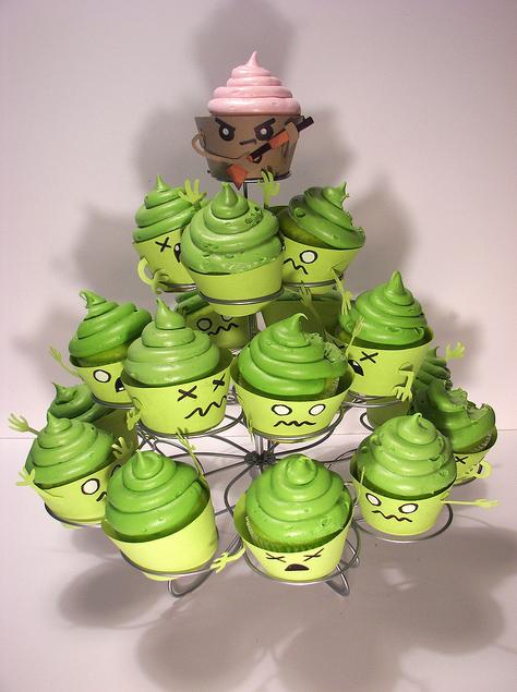 Zombie Cupcakes by Jennifer McFadden