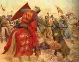 The Saracens (Moslems) don't quite see the Crusaders as Heroes!