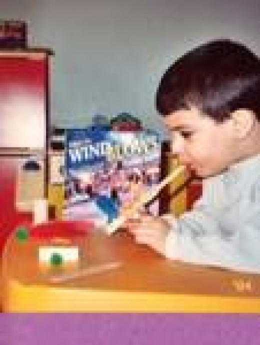 Use creative learning activities to introduce a book to young children.