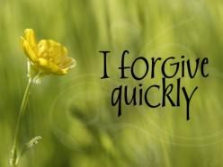 Forgive, Forgiving, Forgiveness