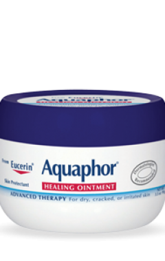 Eucerin Aquaphor is one of the most respected moisturizers for dry and difficult skin.