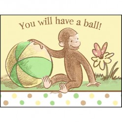 Curious George Baby Shower will be More Fun than a Barrel of Monkeys!