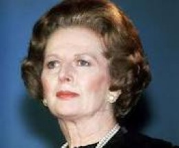 Former British Prime Minister Margaret Thatcher The Iron Lady