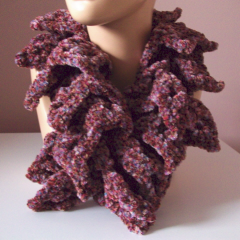 Ruffled Scarf and Scarflette - Free Crochet Pattern