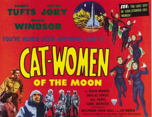 Cat-Women of the Moon - poster