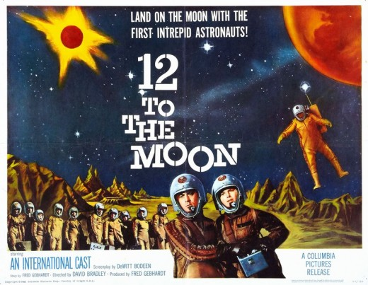 12 to the Moon - poster