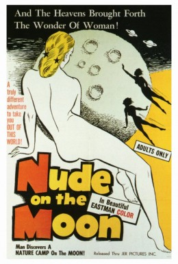 Nude on the Moon - poster