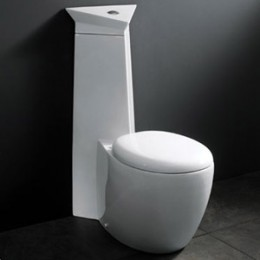 Is this a toilet, or a set piece from a Stanley Kubrick movie?