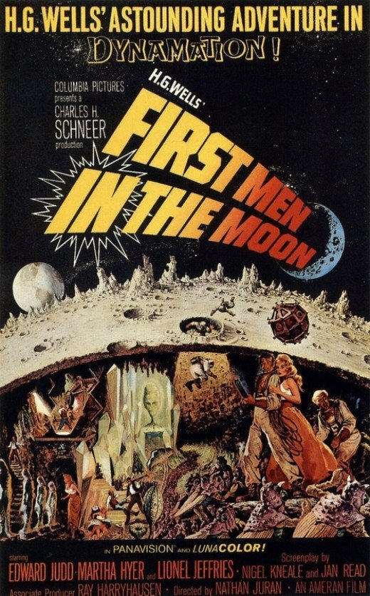 First Men in the Moon - poster