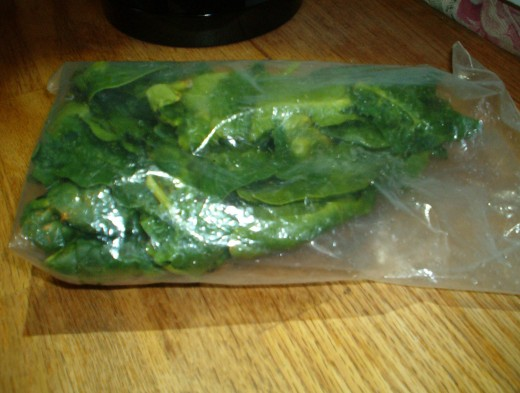 Proper storage keeps spinach fresh longer.