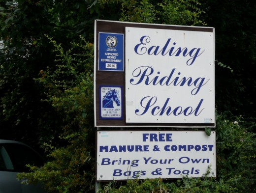 Ealing Riding School in west London is close to the North Circular and has easy access