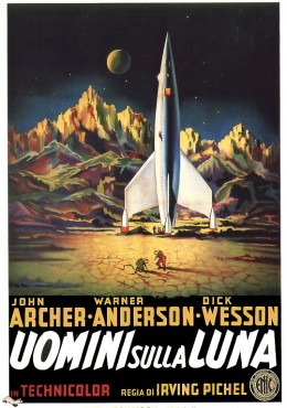 Destination Moon (1950) poster