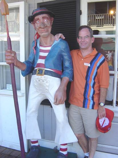 Making new friends in Lahaina