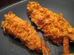 Super Simple Snacks; Fried Chicken Fingers