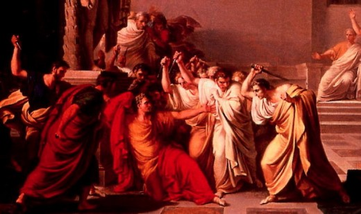 The assassination of Julius Caesar did not restore the freedom of the Republic, but initiated its final death throes in strife, devastation, and fatal struggles for primacy