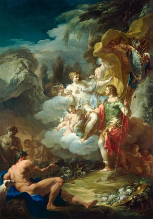 Venus and Aeneas, Giaquinto