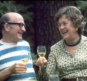 Julia Child with her husband