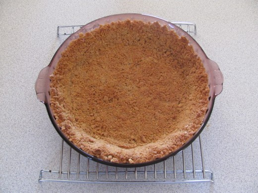baked crumbly crust