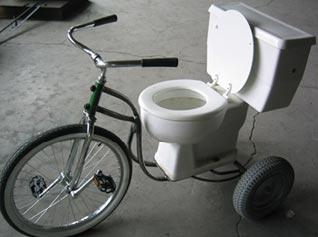 Toilet Tricycle