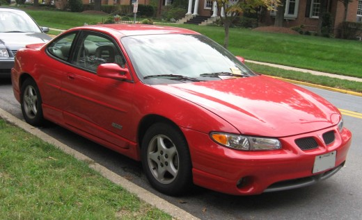 A handsome GTP coupe in red.