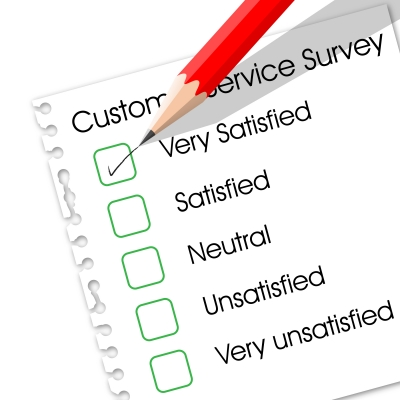 Customer Service Survey - another type of opinion poll