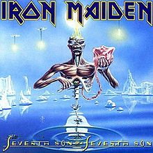 "The album cover for ""Seventh Son of a Seventh Son""."