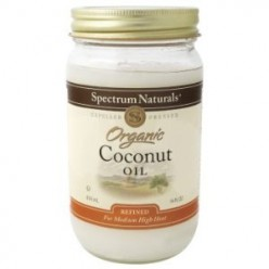 A jar of coconut oil for benefits