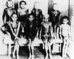 Children subjected to experimentation at Auschwitz