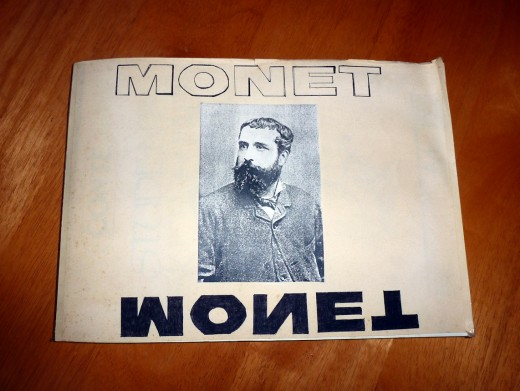 My project on Claude Monet written 22 years ago