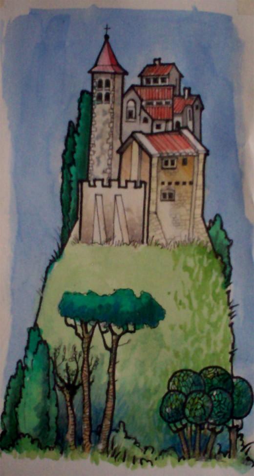 Umbrian Castle