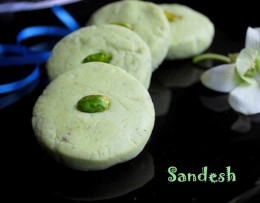 Sandesh is ready to be devoured and savored by you or be gifted to someone near and dear