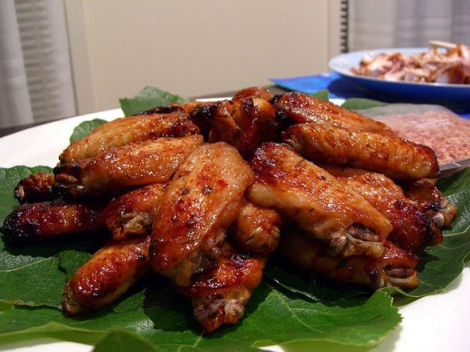 Vietnamese Baked Hoisin Glazed Chicken Wing Recipe (Canh Ga Nuong ...