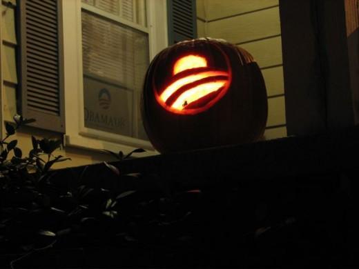 Obama for pumpkin soup!