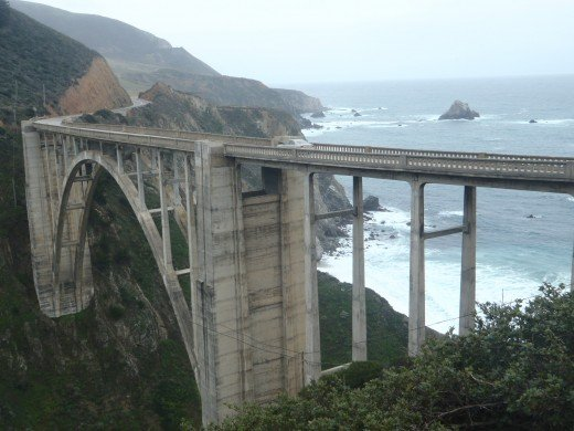Bixby Creek Bridge south of Carmel.