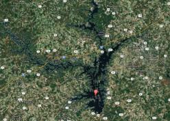 Lake Hartwell Marina's and Boat Launch Ramp Facilities Near Greenville / Anderson South Carolina