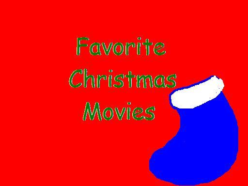 I love to watch Christmas movies around the holidays.