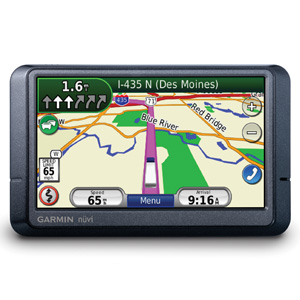 The Garmin Nuvi465t GPS Navigator